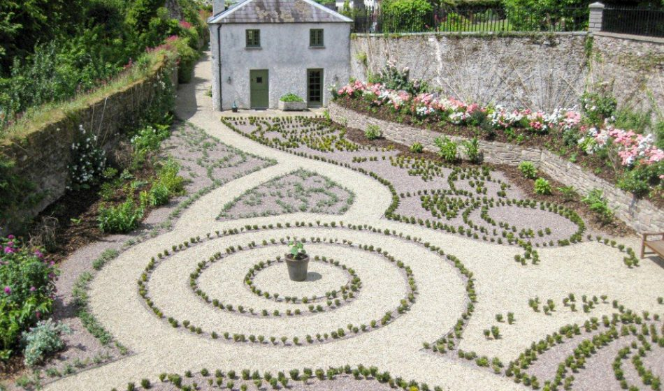 Ballynatray Estate - Formal Planting Pattern