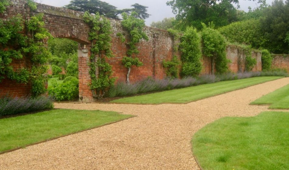 Broadlands Estate Hampshire - Red Brick Walls and Lawns