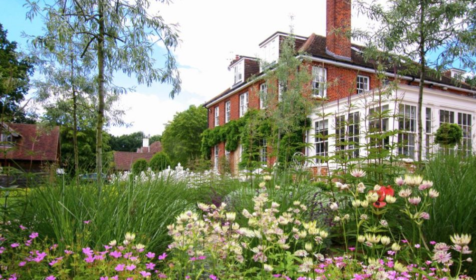Country House, Berkshire - Flowers which surround the house