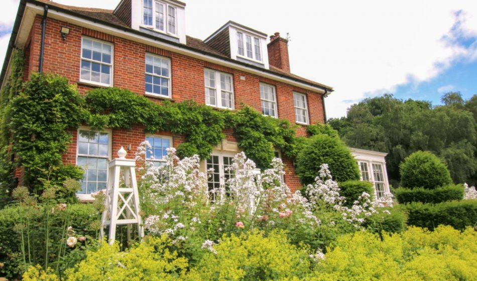 Country House, Berkshire - House and Garden