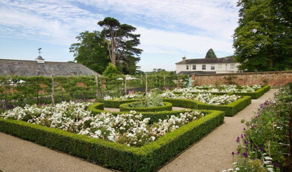 Georgian House, Hampshire Project - Formal Rose Garden