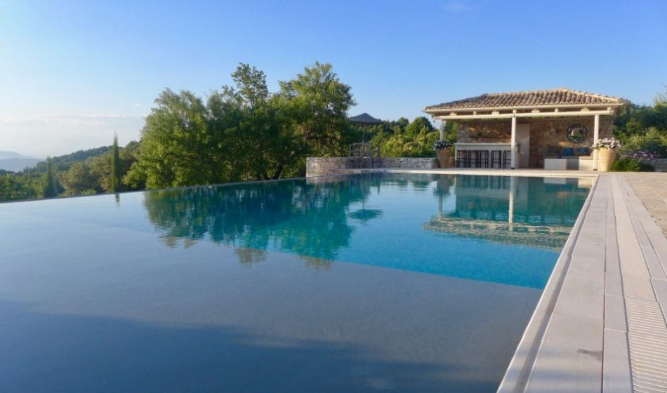 Koukos Country Villa, Corfu - Infinity Pool