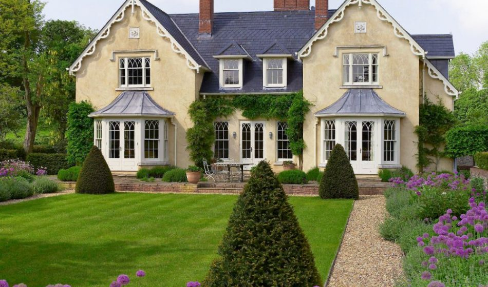 New Cottage Orné, Hampshire - Formal Garden Design