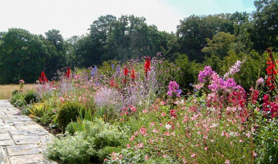 Old Rectory Berkshire - Herb Border