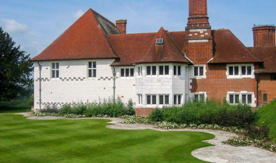 Marsh Court Hampshire - Lawns Beside House