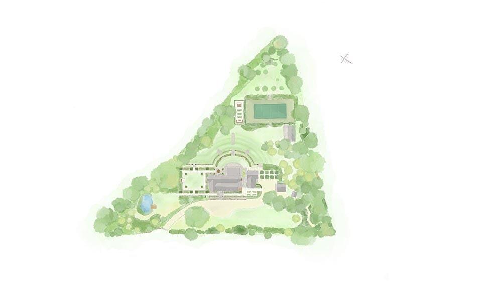 Victorian House Hampshire Landscape Design Project
