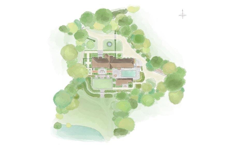 Arts & Crafts House Surrey Landscape Design Project