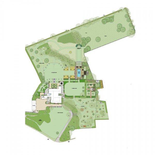 Berkshire Farmhouse Garden Design Master Plan