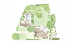 Landscape Design Plan for Georgian Manor House Hampshire